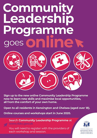 Community Leadership Programme poster 20
