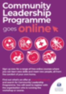 Community Leadership Programme leaflet 2