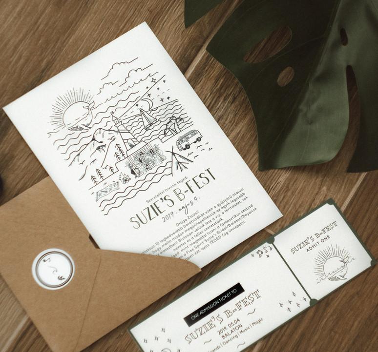Wonder Brigi Design - Suzie's B-Fest