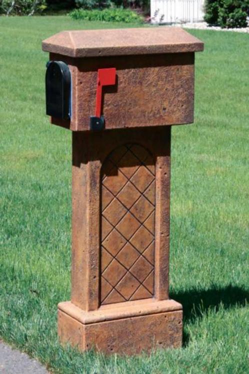 Tiled Mailbox