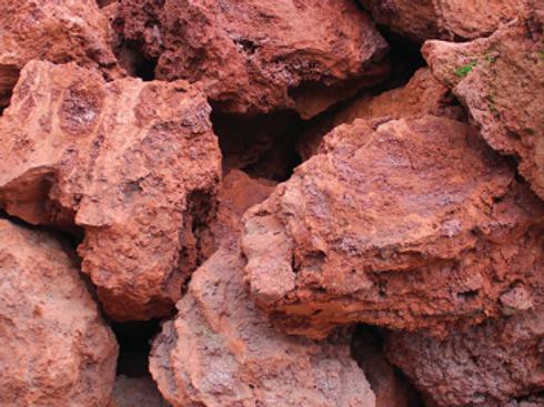 Volcanic Lava Boulders