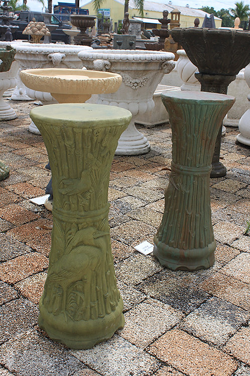 Bamboo/Egret Pedestals