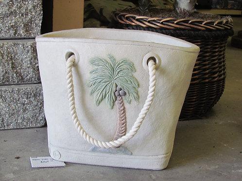 Palm Tree Tote Planter
