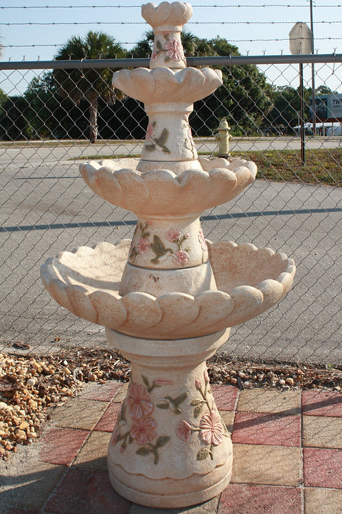 4 Tier Hummingbird Fountain