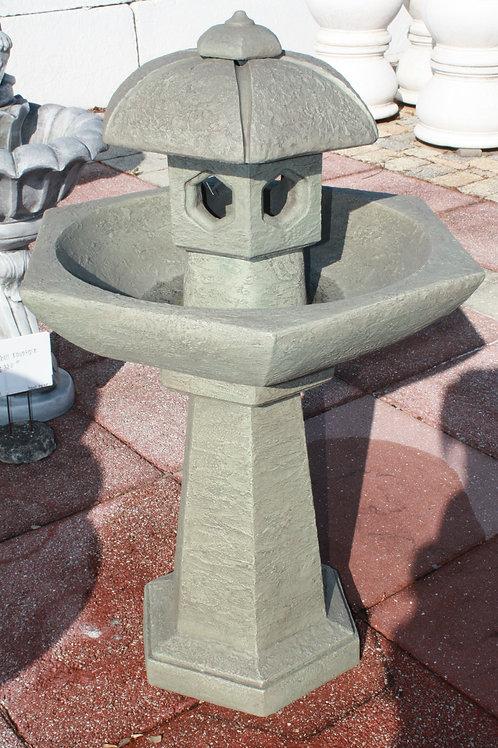 "41"" Spring Rain Pagoda Fountain"