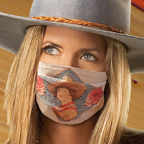 Confident Cowgirl Mask