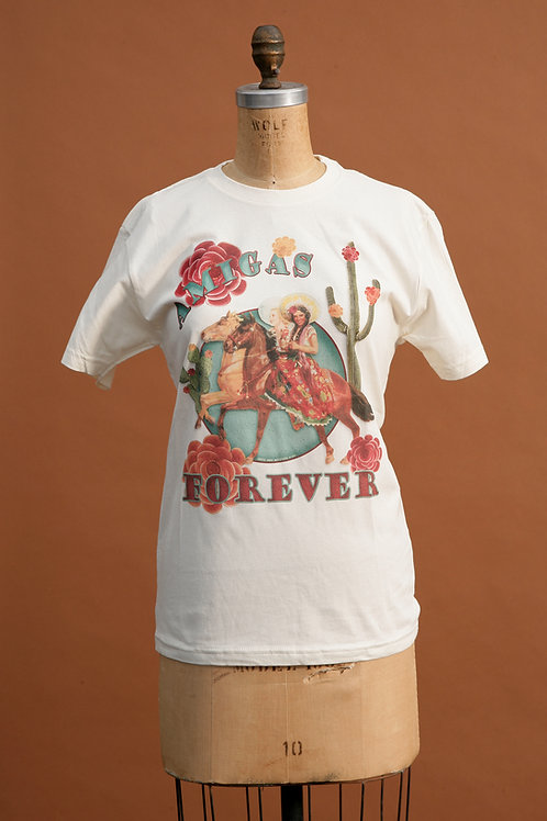 Amigas Forever Tee on Ivory