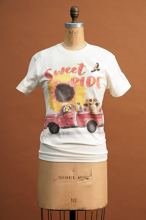 Sweet Ride Tee on Ivory