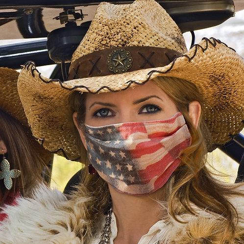 Full USA Flag Mask