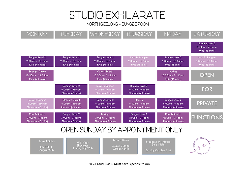Studio Exhilarate Term 4 Timetable_NorthBungee.png