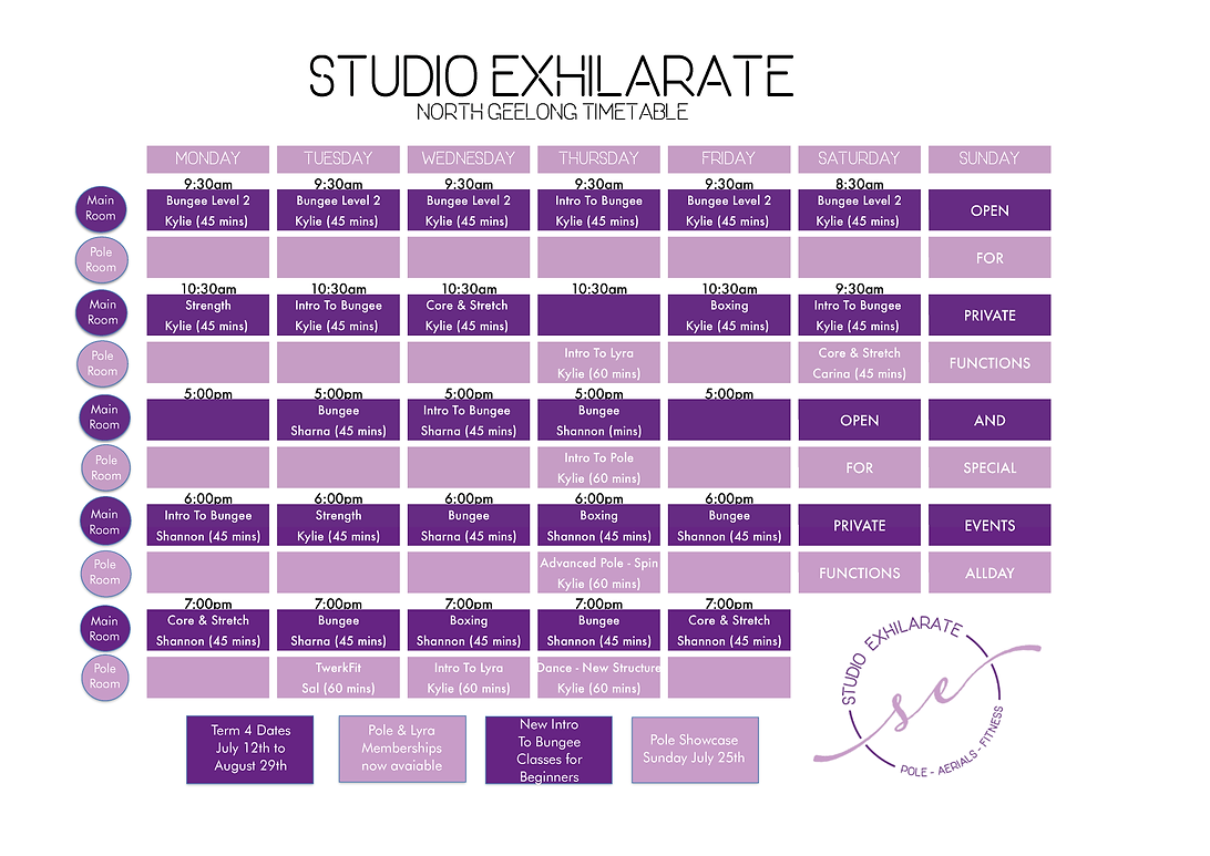 Studio Exhilarate Term 4 Timetable North Geelong.png
