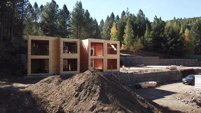 El blanqueo destinado a la construcción ya está en marcha.