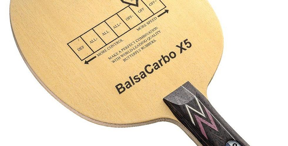 Butterfly Balsa Carbon X5 Blade