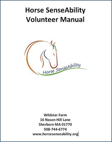Horse SenseAbility Volunteer Manual