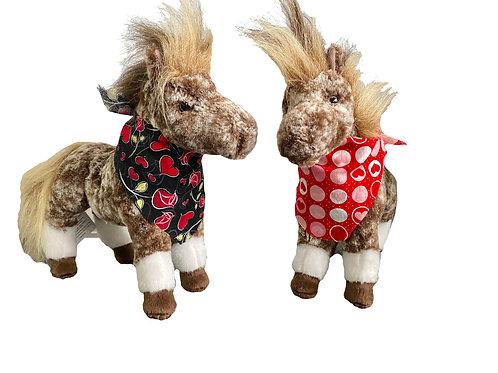 Valentine's Day Hugo Stuffed Animal