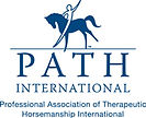 PATH Interntional logo (Professional Association of Therapeutic Horesemanship International)