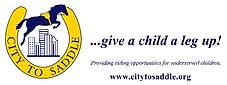 City to saddle logo