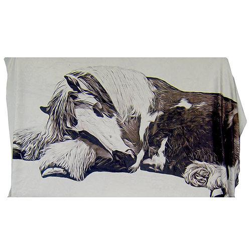 "Ruby @ Rest Plush King-Size Blanket (60"" x 80"")"