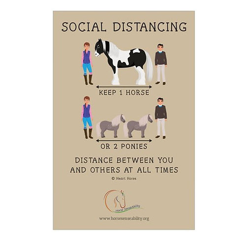 5-Pack of Social Distancing Signs