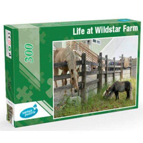 Wildstar Farm 300-Piece Jigsaw Puzzle