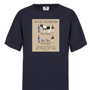 Social Distancing T-Shirt--Adult & Youth Sizes