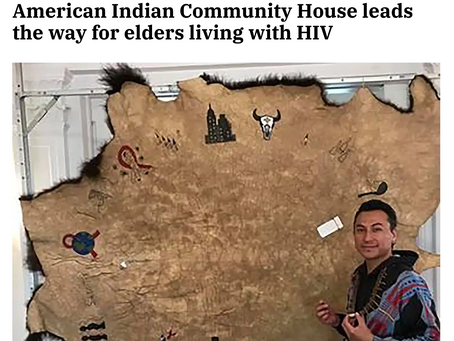 American Indian Community House leads the way for elders living with HIV