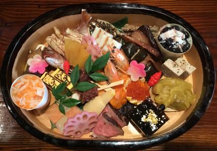 """Osechi"" Japanese New Year's food"