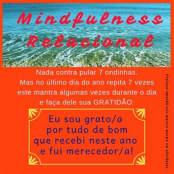 Mindfulness Relacional Mantra de fim de