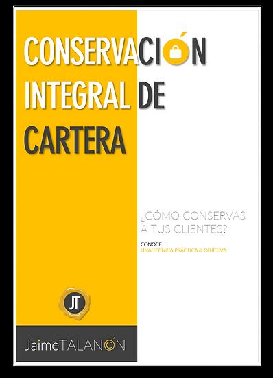 CONSERVACIÓN INTEGRAL DE CARTERA
