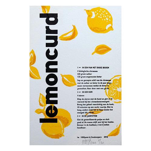 lino & letterdruk 'lemoncurd'
