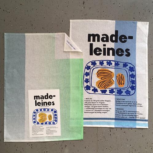 linnen theedoek - Madelaines
