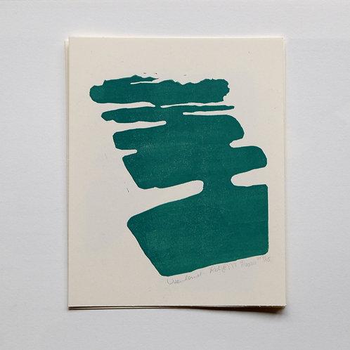 lino print - veenland