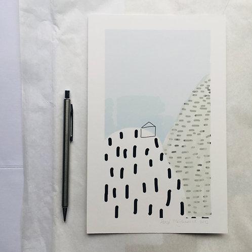 giclee print - droomhuis