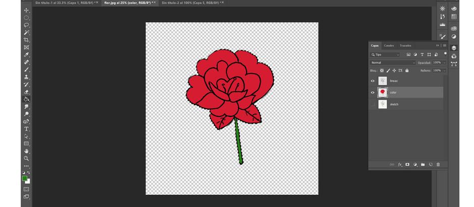 Tutorial photoshop - Convierte tu sketch en lineart