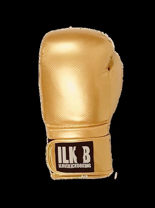 Carbon Strike Gloves- Gold