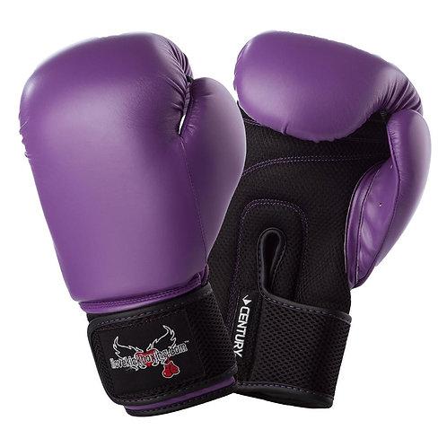 Purple 12 oz gloves
