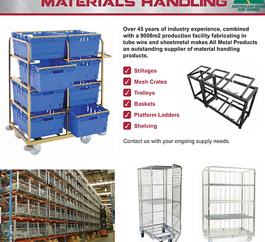 Materials Handling Icon button for websi