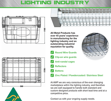 Lighting Industry Icon button for websit