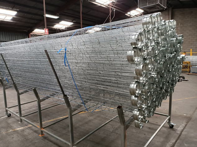 Dust Filtration Cages
