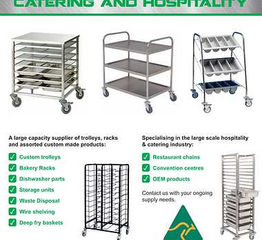 Catering and Hospitial  Icon button for