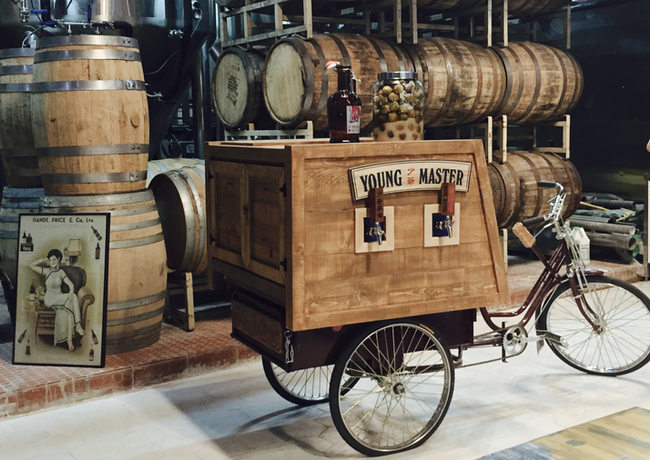 Beer Cart with Bike