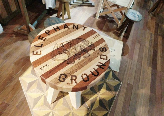 2019 Elephant Grounds Stool