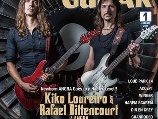 Angra - Young Guitar Japão 01.2015