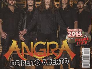 Angra - Revista Road Crew - 01.2015