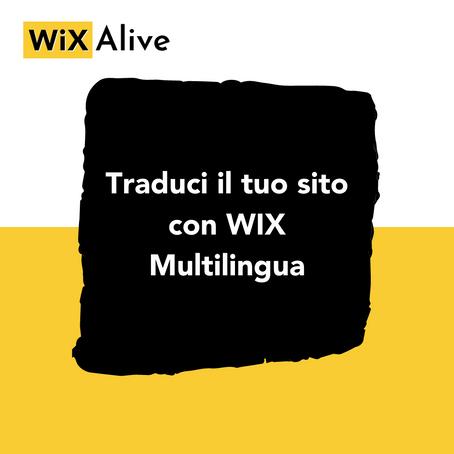 Wix Multilingua: Come tradurre il tuo sito