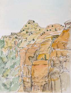Sedona sketch 4