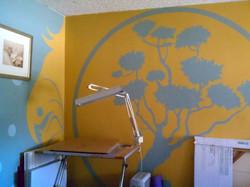 mural work room