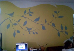 mural livingroom