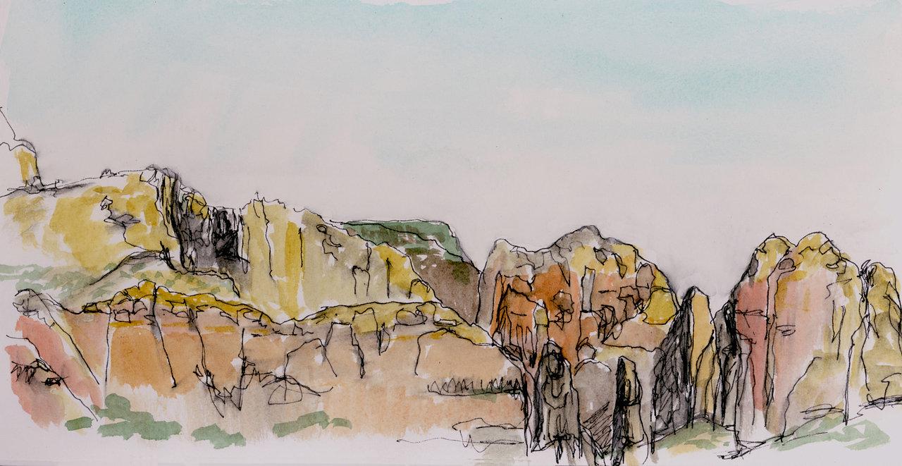 Sedona Sketch 2