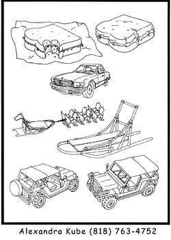 Various props
